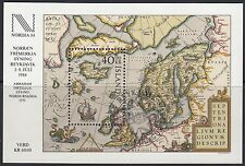 ICELAND: 1984 Nordic 84 Exhibition miniature sheet  3 SG MS645 fine used