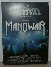 MAGIC CIRCLE FESTIVAL VOLUME I - MANOWAR - 2 DVD