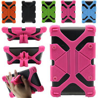 "Universal Safe Kids Shockproof Silicone Cover Case For 7"" 8"" 12"" 10.1"" Tablet PC"