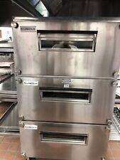 3 Lincoln Model 3240 Single Deck Conveyor Pizza Ovens