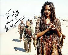 Naomie Harris signed 8x10 Pirates of The Caribbean photo / autograph