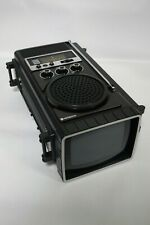 Hitachi K-1000 Vintage Portable Black and White Television