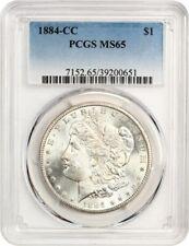 1884-CC $1 PCGS MS65 - Morgan Silver Dollar
