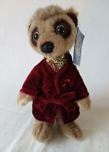 ALEXSANDR MEERKAT PLUSH TOY FROM COMPARE THE MARKET