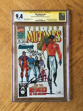 New Mutants #99 Signed by Rob Liefeld & Fabian Nicieza 1st Feral 9.4 NM CGC