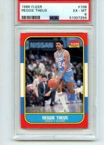 1986-87 Fleer Reggie Theus #108 PSA 6