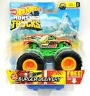 Hot Wheels Monster Trucks Burger Delivery 1:64 cars toy die cast