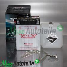 MOTORRAD ROLLER QUAD BATTERIE WM MOTOR WILMAT 12N14-3A 12V 14Ah KAWASAKI GPZ500