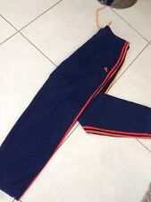 Men's Vintage Adidas Tuta Bottoms Pantaloni Sportivi Pantaloni sportivi da palestra Taglia Large