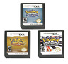 Pokemon HeartGold SoulSilver platinum Game Card for DS 3DS NDSi NDS US Version