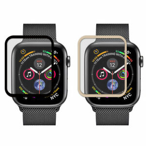 2X For Apple Watch 4/5/6/SE 40 44 mm Full Coverage HD Clear LCD Screen Protector