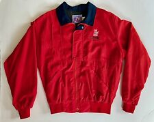 Vintage 80's Red Roof Inns Racing Truesports Indy Medium Embroidered Jacket