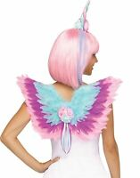 Lace Instant Unicorn Costume Kit Horn Headband Flying Wings Accessory Set