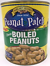 Jumbo 6 Pound can of Peanut Patch Jumbo Green Boiled Peanuts - Free Shipping!