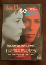 Talk to Her (Dvd, 2003) French Language Fmr Rental