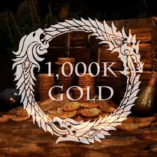 (PC EU) GOLD TESO The Elder Scrolls Online ESO 1 Mio Gold (1000k) PC Version EU