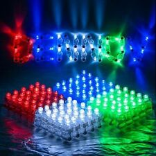 100x LED Finger Light Up Lamp Ring Glow Party Night Club Beams Laser Toy Gift