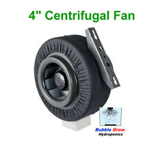 "CENTRIFUGAL FAN VENTILATION EXHAUST FAN 4""/100MM VENT DUCT EXTRACTOR METAL BLADE"