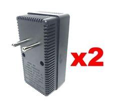 EU Europe to USA 50-2000W Voltage Converter 220v to 110v Power Transformer 2PACK