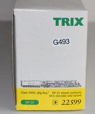 TRIX HO 22599 rp25 BIG BOY class 4000 Décodeur + Sound (g493)