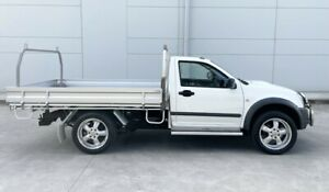 ISUZU D-MAX 2010 4WD TURBO DIESEL 3.0 4X4 UTE ALLOY TRAY VERY CLEAN INSIDE & OUT