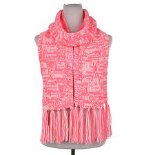 Clearance Cute Dasein Fashion Bright Soft Warm Chunky Neon Cable Knit Scarf
