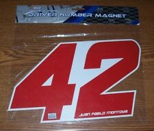 JUAN PABLO MONTOYA #42 12X7 R&R DRIVER NUMBER MAGNET