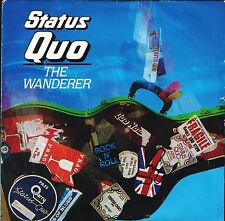 "STATUS QUO the wanderer/can't be done QUO 16 uk vertigo 7"" PS EX/EX"