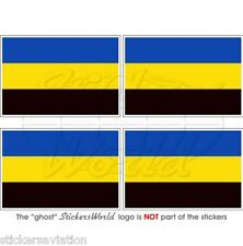 "GELDERLAND Bandiera Olanda Olandese Adesivi in Vinile 50mm(2"") Stickers x4"