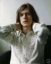 David Bowie Early 10x8 Photo White Shirt