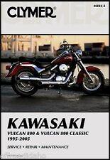 CLYMER MANUAL KAWASAKI VULCAN VN800A 1995-2005, VN800B CLASSIC 1996-2005 VN 800