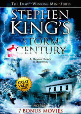 Stephen Kings Storm of the Century(DVD, 2-Disc Set, 8 Movies)  New! SEALED!!