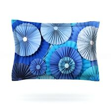 Kess Inhouse Blue Lagoon King Pillow Sham - 20 x 40