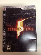 Resident Evil 5 Collectors Edition, Playstation PS3, Complete! Please Look!