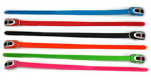 BRIGHT COLLARS! NEW STAYWELL CINCH-IT EASY CLICK SET ADJUSTABLE DOG COLLAR