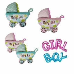 Folienballon Baby Car Ballons Geschlecht Enthüllung Baby Shower Geburtstagsfeier