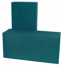 2 x Oasis Ideal Floral Foam Wet Brick or Block