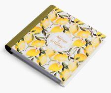 Art File Oranges & Lemons Address & Birthday Book Gift Notebook
