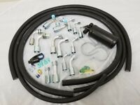 Air Conditioning A/C Hose Kit O Ring Fittings Drier & Trinary Switch AC 134a