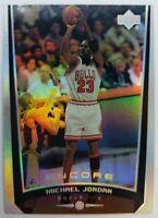 MICHAEL JORDAN 1998 UPPER DECK ENCORE #94 HOLOFOIL REFRACTOR LIKE CARD BULLS MJ
