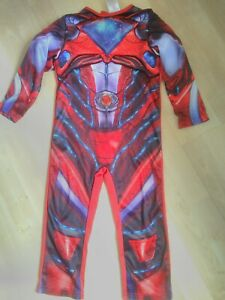 boys power rangers outfit dress up costume 3/4 years