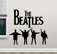 The Beatles Wall Decal Music Band Vinyl Sticker Rock Stars Art Decor Mural 10sss