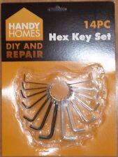 14 Piece Hex Key Set