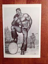 Tom of Finland Postcard by Taschen 1994 Lumberjack