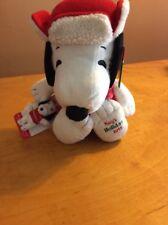 PEANUTS SNOOPY MACYS  2015 Plush Soft Stuffed Animal BELLE Backpack Clip Bx12
