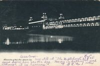 ATLANTIC CITY NJ – Illuminated Steel Pier – udb – 1905