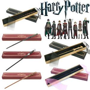 HARRY POTTER Wand Hermione Dumbledore Cosplay Magical Wand Ribbon Box Kids Gift