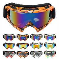 Motorcycle Motocross Race Goggles Moto MTB ATV UTV MX Off Road Dirt Bike Eyewear