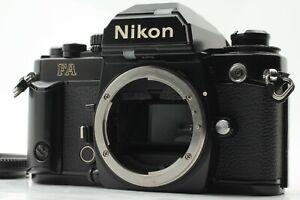 [Eccellente Nikon FA Nero Corpo 35mm SLR Film Fotocamera Da Giappone #268