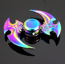 Hand Spinner Finger Fidget Metal Hybird Bearing Gyro Kid Adult Focus Desk Toy W8